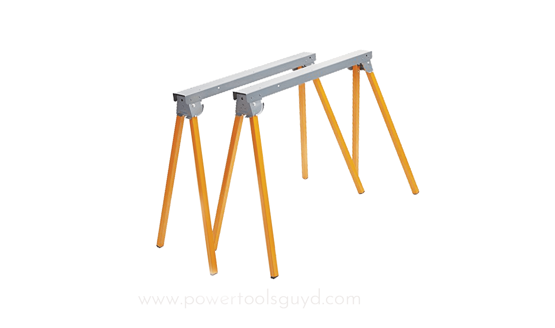 How to use a sawhorse