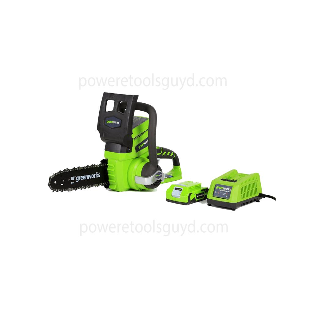 Greenworks 10 Inch 24V Cordless Chainsaw