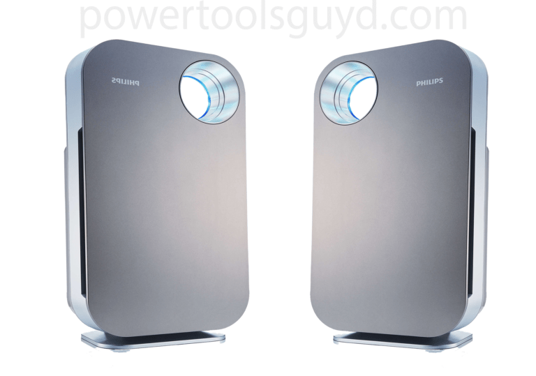 Removing dust with an air purifier