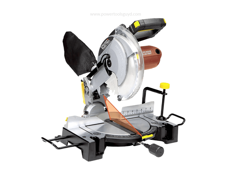 Miter Saw with Laser Guide