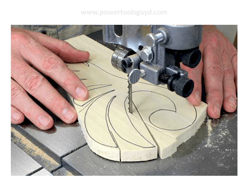 curve cuts with band saw