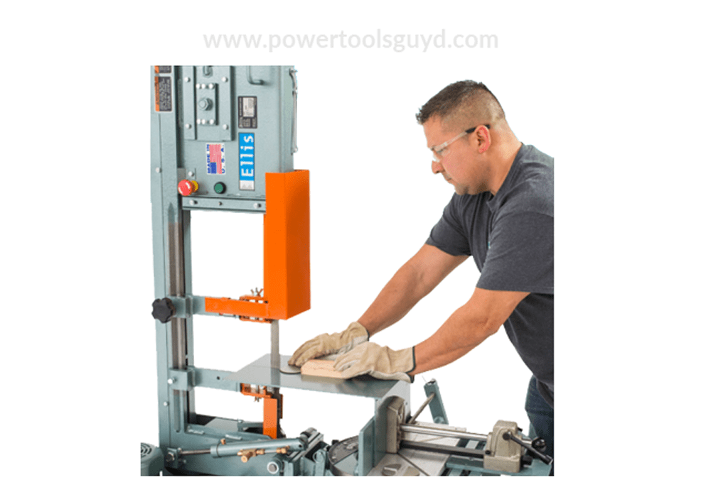 Learn how to use a band saw to cut metal - Powertoolsguyd