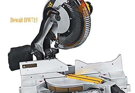 Dewalt DW715 review, compound corded miter saw