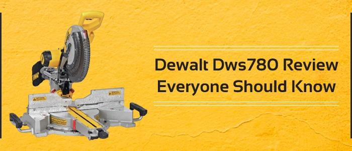 Dewalt DWS780 review, user-friendly saw
