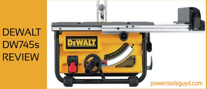 Dewalt DW745S review: table saw with folding stand