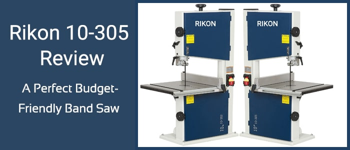 A perfect bandsaw in your budget, Rikon 10-305 review