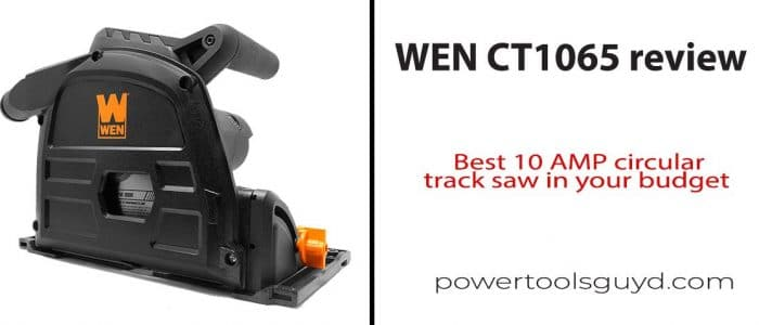 WEN CT1065 review, Brilliant way To get a circular saw!