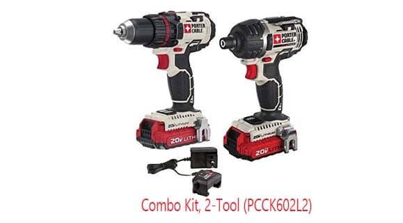 porter cable 20v drill and impact combo review