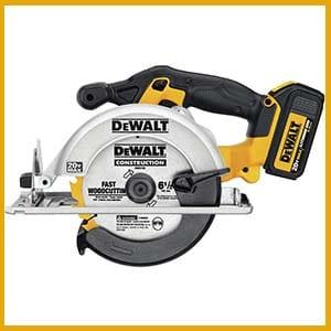 Dewalt Cordless Drill Combo Kit of circular saw