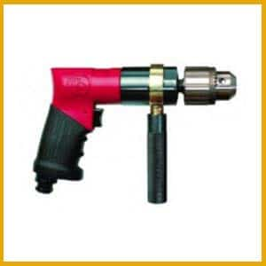 Gun handle pneumatic drill