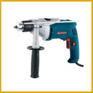 Impact-drill press uses
