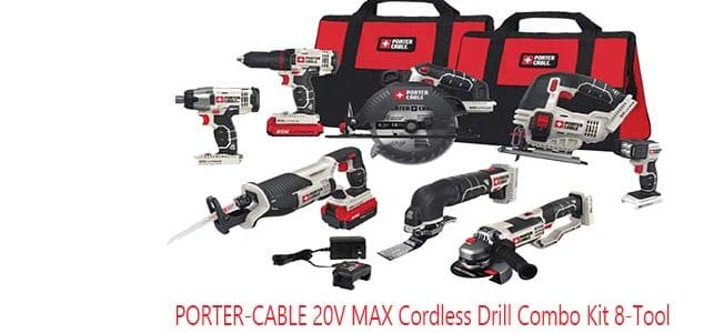 porter cable 20v tools review: Porter-Cable cordless drill combo kit