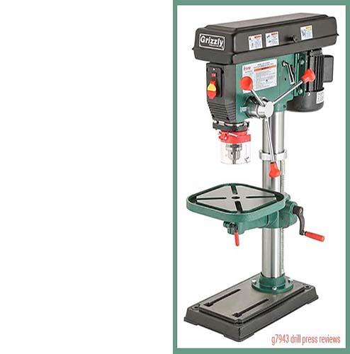g7943 drill press reviews: heavy-duty benchtop drill press