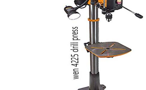 wen 4225 drill press review: 15-inch floor-standing