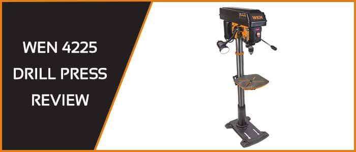 wen 4225 drill press review: 15-inch floor-standing
