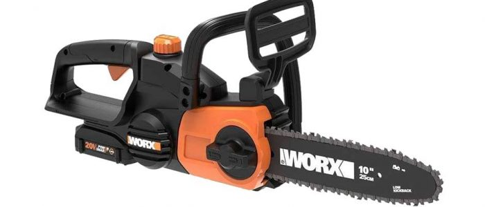 Worx WG322 review, an affordable 20V chainsaw