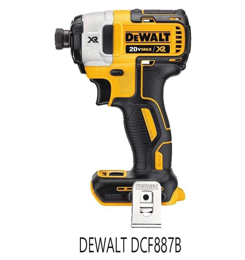 DEWALT DCF887B impact driver