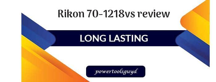 Rikon 70-1218vs review: Variable Speed MIDI Lathe