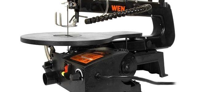 Wen scroll saw review, 1.2 AMP powerful scroll saw