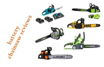 11 battery chainsaw reviews and buying guide