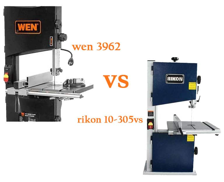 Wen 3962 vs Rikon 10-305: Which is the best band saw for you?