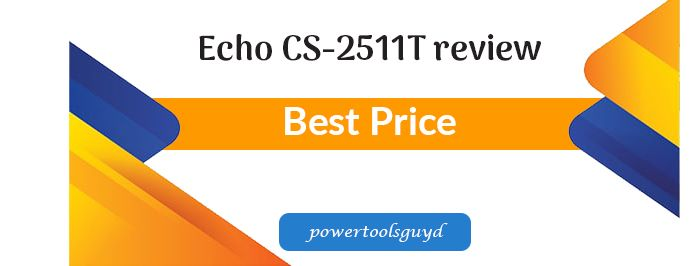 Echo CS-2511T review, it's a 25 CC and 12 inches less fuel chainsaw!