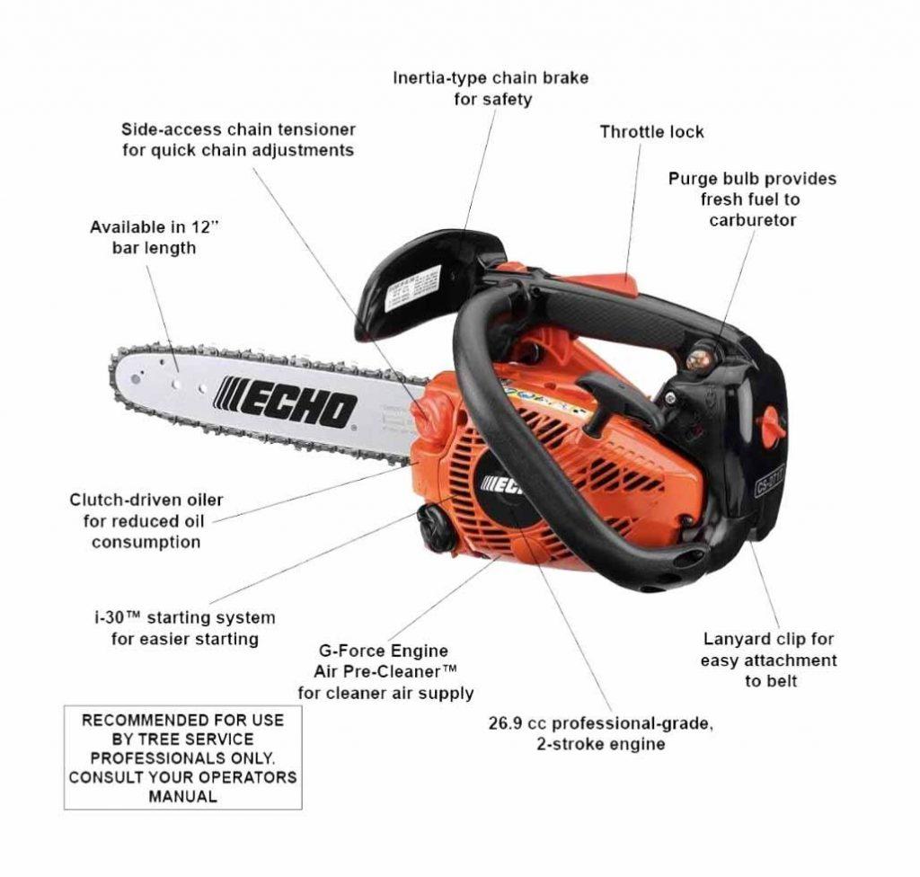 Echo CS 271t chainsaw