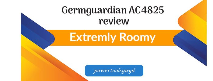 Germguardian AC4825 review 3-in-1 Air Cleaning System