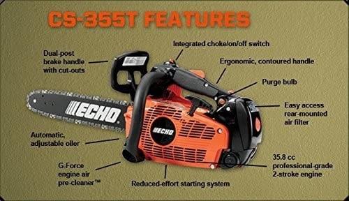 Echo cs-355t review