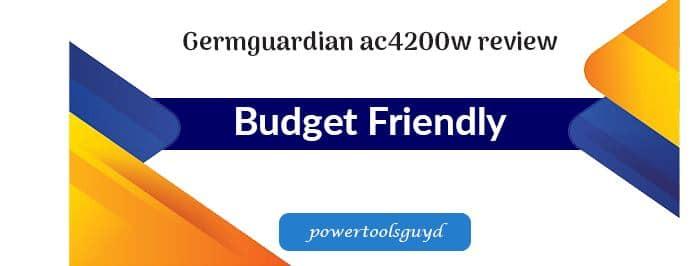 Germguardian AC4200W review- ozone-free air purifier.