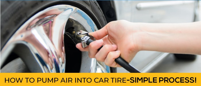 How to Pump Air into Car Tire