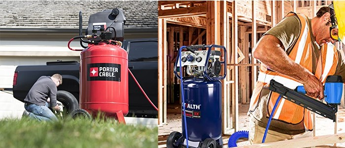 Best 20 Gallon Air Compressor for Home Garage| the Topmost 8 Air Compressors Review