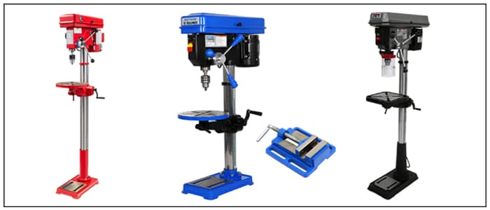4 Best Floor Standing Drill Press For Woodworking – Review & Buying Guide