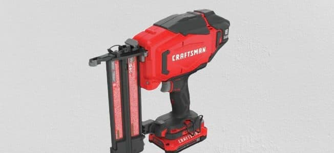 Craftsman V20 Cordless Brad Nailer Kit Reviews: CRAFTSMAN CMCN618C1